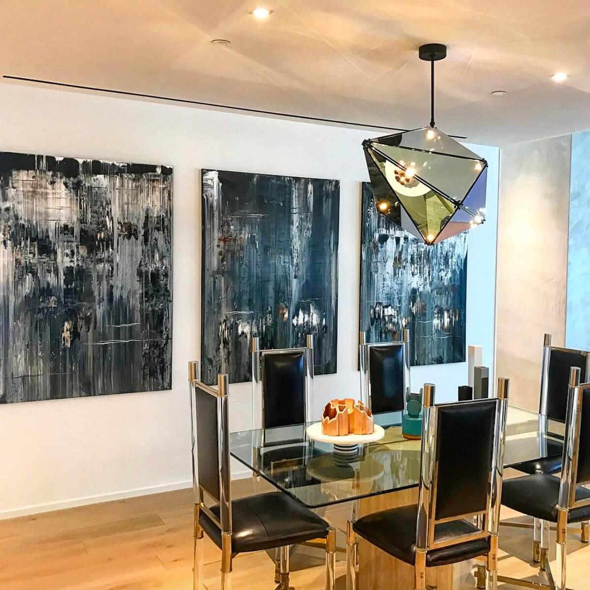 installation view at 121 East 22nd New York (Toll Brothers City Living)